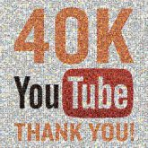 youtube social media followers thanks grateful milestones celebrations text graphics icons words letters type fonts bold logos