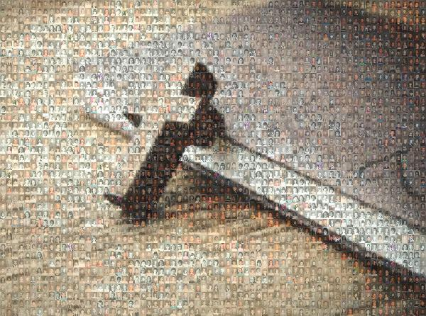 Retirement Gift photo mosaic