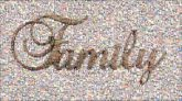 family script letters text unity love words cursive together