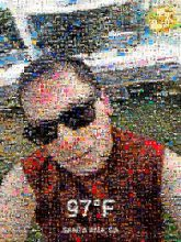 selfies man men people faces sunglasses temperature