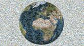 earth planet world map travel globe