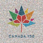 canada numbers letters words places anniversary heritage unity community shapes text country pride leaf leaves lines logos graphics