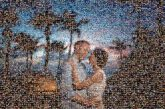 couples people faces love distant distance wedding portraits tropical silhouettes sunsets travel