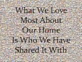 quotes sayings text letters words love family home