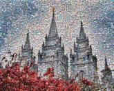 christmas vacations castle buildings landscape skylines