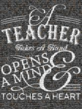 inspirational quotes learning teaching teachers students script lettering letters words text chalk board retirement love