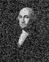 american presidents george washington portraits people faces black and white