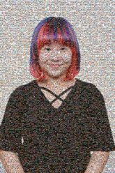people faces girls woman young portraits colored hair smiling