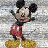 travel vacation family trip faces fun youth character animation mickey mouse mascot graphic