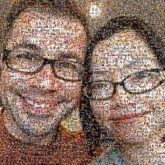 people faces couples love husband wife portraits selfies smiling glasses