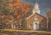 chapel fall autumn landscape church religion religious holy buildings structures youthgroup retreat