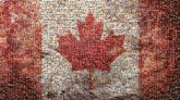 nation country Canada Canadian maple leaf symbol flag patriotism simple red white