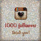 followers milestones numbers letters words instagram social media community people organizations likes following brands icons logos graphics hearts thank you
