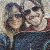 couples love man woman people faces portraits sunglasses musicians guitars artistic selfies