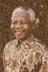 Nelson Mandala politician anthropologist President nation South Africa activist icon famous celebrity portrait faces person people man