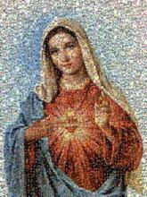 religious mary heart immaculate christianity catholicism jesus devotional spiritual