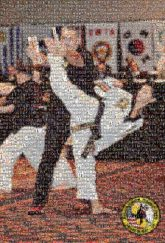 martial arts karate people sports activities faces distant