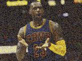 lebron james cavaliers cavs cleveland basketball nba sports athletes people faces distant distance