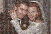 wedding marriage couple love bride groom people faces
