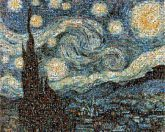 starry night famous artwork paintings illustrations abstract sky stars
