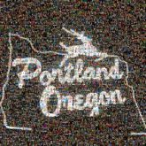 portland oregon signs places states cities city text words letters icons symbols