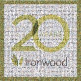 ironwood iron wood company brand celebration anniversary forest