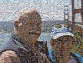 couples people travel vacations love person faces portraits golden gate bridge san francisco california man woman