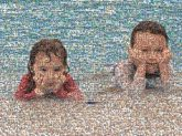 siblings children kids people faces portraits beaches summer vacations brother sister boys girls