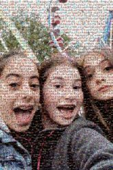 friends girls people faces selfies carnivals fun person groups