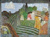 farms agriculture landscapes artwork quilts patchwork