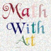 math art creative text words letters drawings illustrations icons symbols education