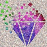 events shapes diamonds colors logos icons