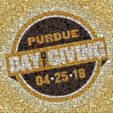 purdue schools organizations giving community text words letters dates events graphics shapes