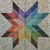 quilts patterns patches stars colors shapes points rainbows blankets
