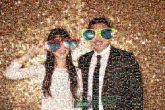 photobooth props sunglasses formal events couples people person man woman love