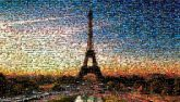 eiffel tower landmarks sunsets paris france vacations