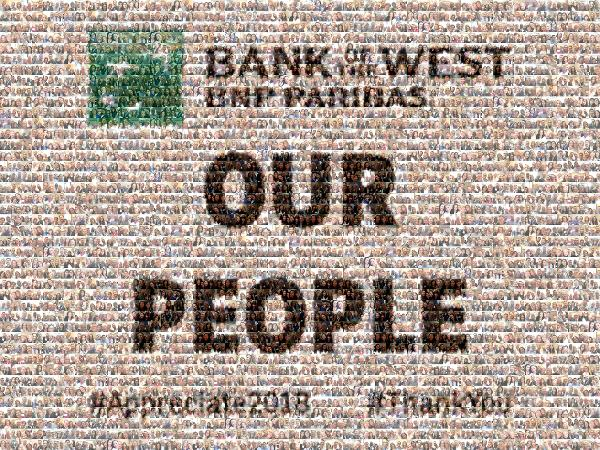 Our People photo mosaic