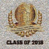 class of 2018 graduates graduating years numbers accomplishments milestones education students text words letters graphics