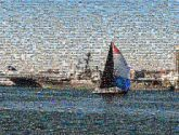 travel trip water sail boats ships bay ocean people
