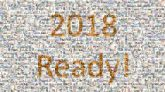2018 new years letters words celebrations numbers