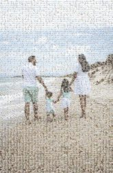 beach vacation group professional picture people parents children