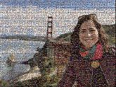 san francisco california travel bridges landmarks vacations structures golden gate people person woman faces portraits