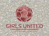 girls united pride teams sports soccer football athletes athletics groups text words letters logos icons graphics