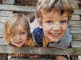 siblings children kids boys girls close up portraits outdoors family love people young