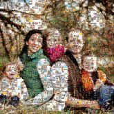 family groups siblings children kids love parents mom dad mother father portraits outdoors faces