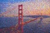golden gate bridges landscapes san francisco california landmarks sunsets travel students