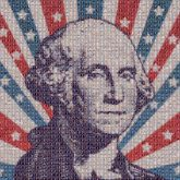 george washington presidents figures portraits faces icons graphics stars stripes american history education students schools united states