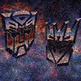 Transformers Fictional character Logo Font Graphics Decepticon Space Graphic design