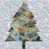 Christmas tree Christmas Day Christmas card
