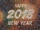 happy new years 2018 years numbers text letters words celebrate gradient abstract
